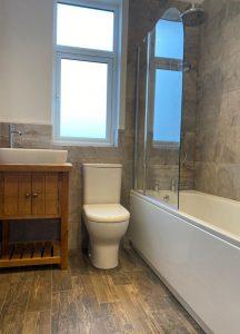 Bathroom installation - London (1)